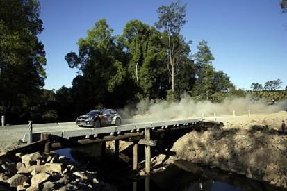 WRC Rally Australia: Sebastien Ogier on brink of win and 2015 title
