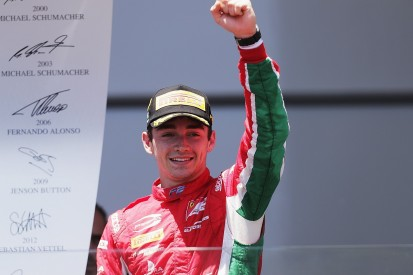Baku F2: Ferrari junior Charles Leclerc wins red-flagged race