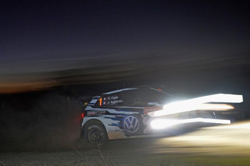 WRC Rally Australia: Sebastien Ogier takes lead from Kris Meeke
