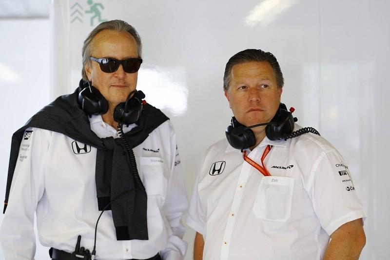Interview with McLaren Formula 1 team's Mansour Ojjeh