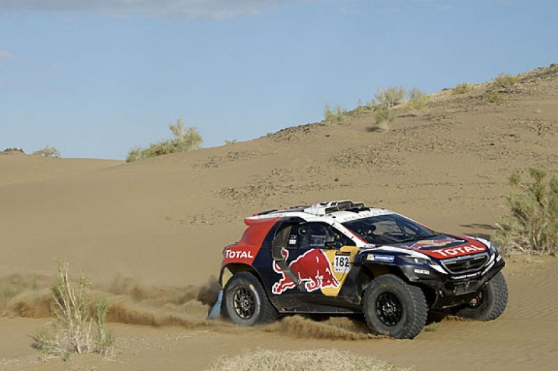 Peugeot's Dakar Rally 2008 DKR takes first victory in China
