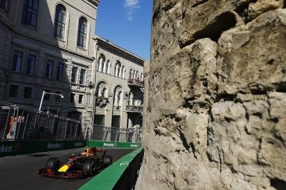 Max Verstappen goes quickest again in Baku F1 practice then crashes