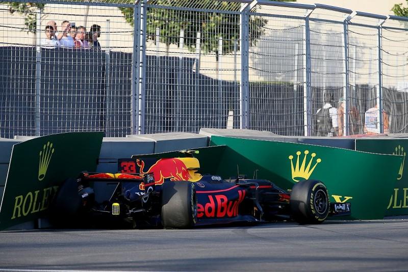 Verstappen: Baku Friday best of F1 season despite 'weird' crash
