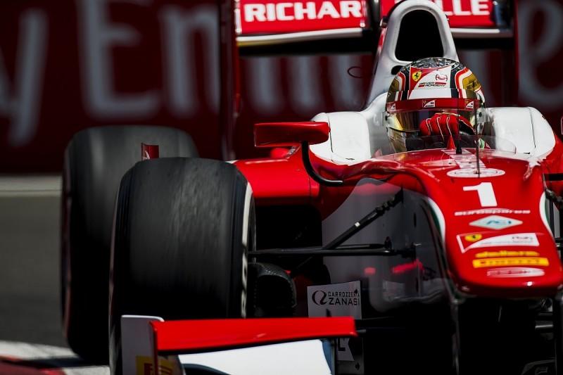 Baku F2: Ferrari protege Leclerc continues qualifying domination