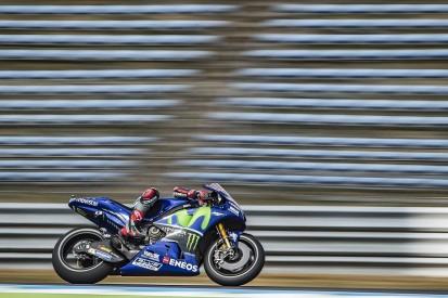 Assen MotoGP: Maverick Vinales dodges rain to set practice pace