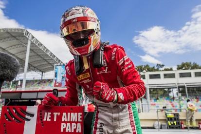 Charles Leclerc: Emotional Baku Formula 2 pole was for late father