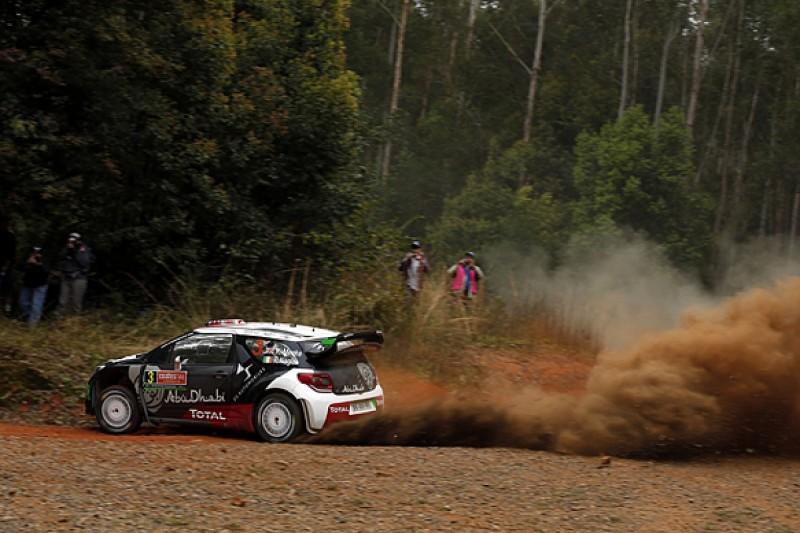 WRC Rally Australia: Citroen's Kris Meeke leads Hyundais