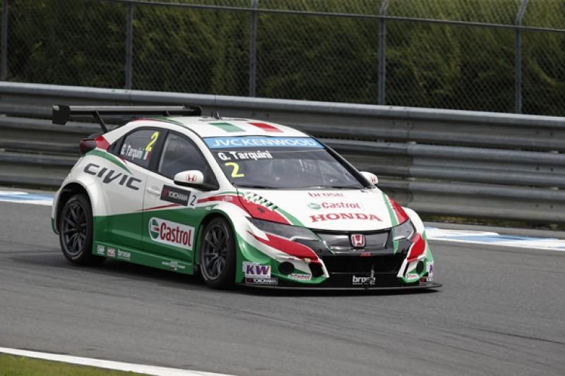 Motegi WTCC: Gabriele Tarquini's Honda fastest on Friday