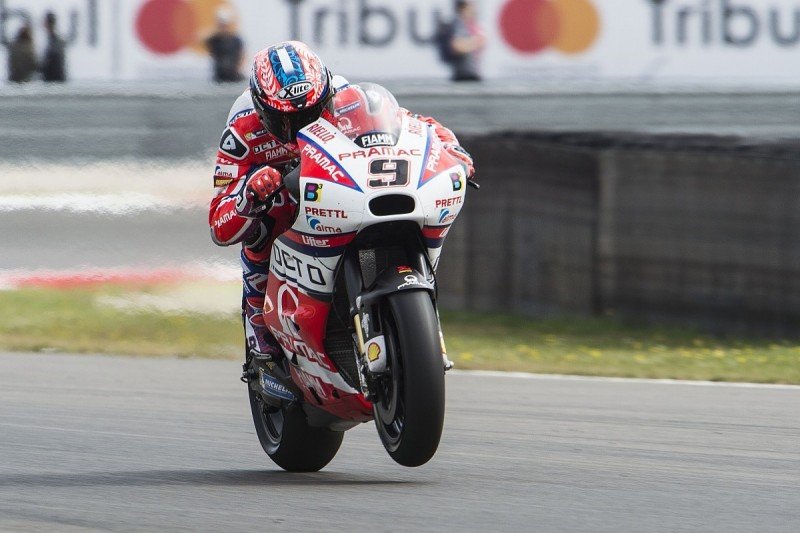 MotoGP Assen: Danilo Petrucci edges narrow FP1 before failure
