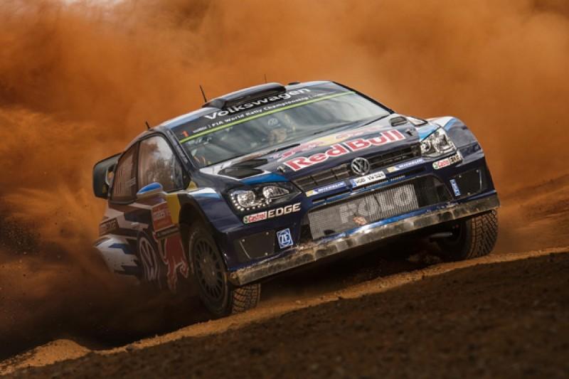WRC Australia: Ogier leads Volkswagen shakedown sweep