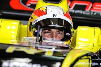Manor F1 driver Roberto Merhi finishes Formula Renault 3.5 campaign
