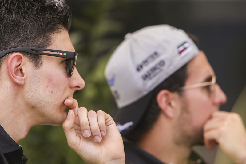 Ocon phoned Force India F1 team-mate to resolve team orders row