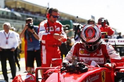 Italian GP: Kimi Raikkonen puts bad start down to Ferrari F1 clutch