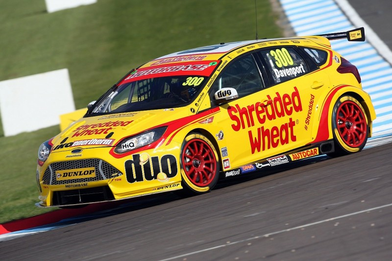 Injured BTCC driver Luke Davenport now out of coma