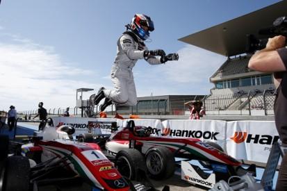 Algarve European F3: Felix Rosenqvist leads Prema Powerteam 1-2-3