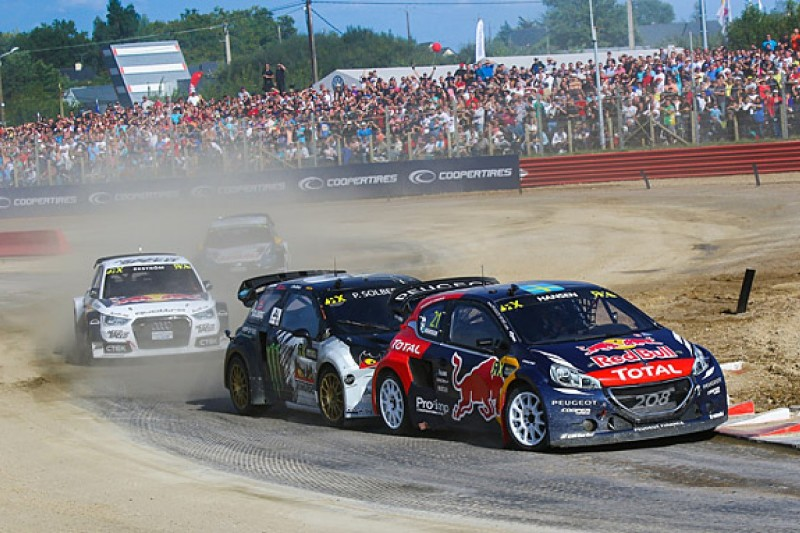 World Rallycross Loheac: Timmy Hansen wins again