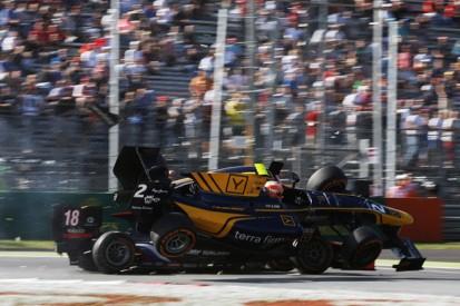 Monza GP2: Alex Lynn punished for Sergey Sirotkin collision