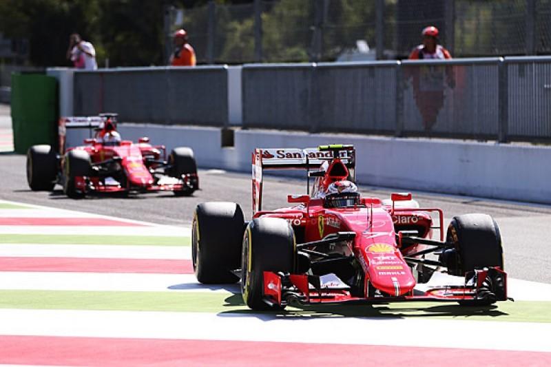 Italian GP: Kimi Raikkonen surprised by Ferrari pace at Monza