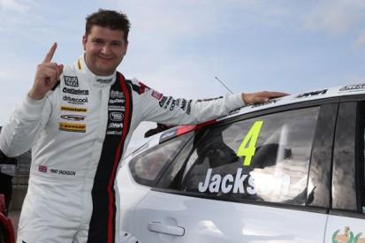 Rockingham BTCC: Motorbase's Mat Jackson gets first pole since 2009