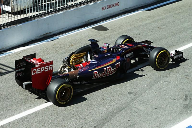 Italian GP: Toro Rosso 'hurry' caused Max Verstappen bodywork loss