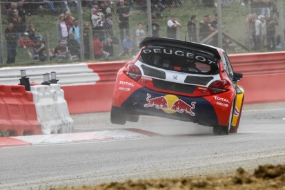 Loheac World Rallycross: Timmy Hansen sets pace for Peugeot
