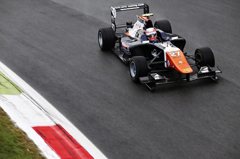 Monza GP3: Luca Ghiotto beats Esteban Ocon to pole by a second