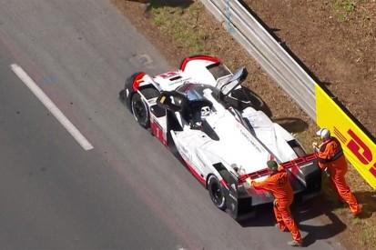 Hour 21: #1 Porsche retires, LMP2 #38 ORECA leads Le Mans overall