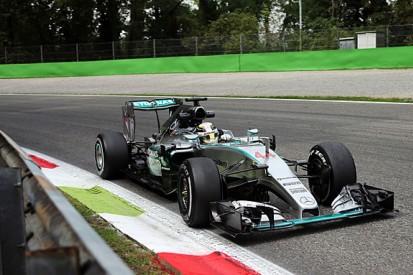 Italian GP: Lewis Hamilton leads Sebastian Vettel in FP3