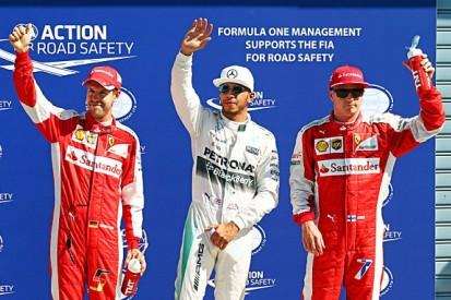 Italian GP: Lewis Hamilton beats Kimi Raikkonen to Monza pole