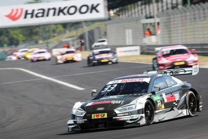 Hungaroring DTM: Audi's Rene Rast takes maiden win for points lead