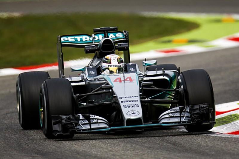 Italian GP: Lewis Hamilton edges Nico Rosberg in FP2 at Monza