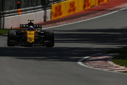 Renault's Jolyon Palmer was affected by Nico Hulkenberg's F1 form