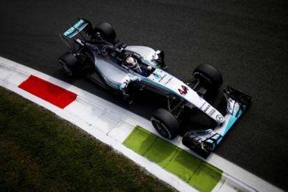 Italian GP: Mercedes' Lewis Hamilton leads first Monza F1 practice