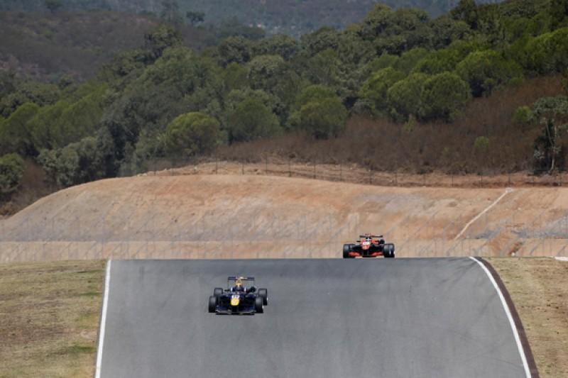 Algarve European F3: Calum Ilott and Jake Dennis lead practice