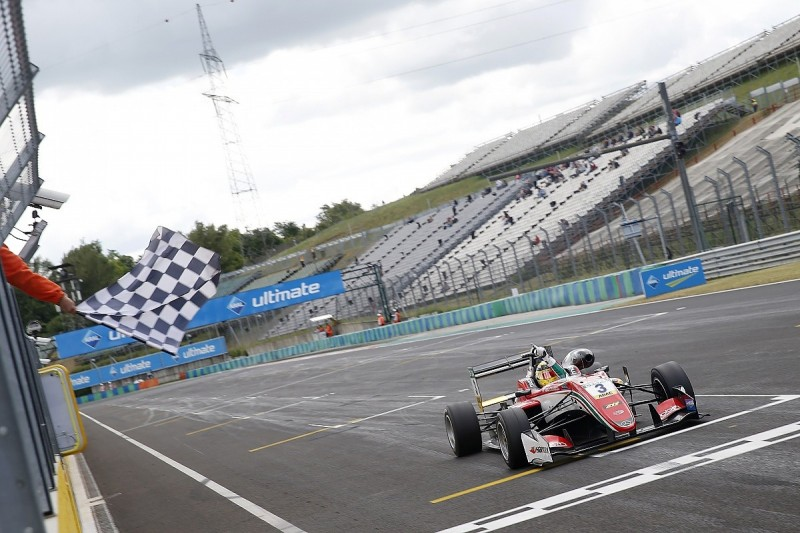 Hungaroring F3: Gunther takes points lead after race one victory