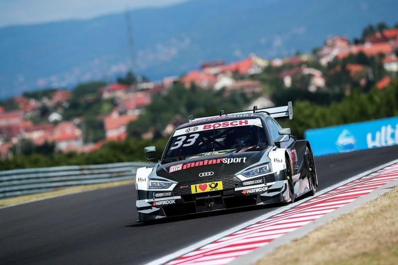 Hungaroring DTM: Audi dominates qualifying with Rast on pole