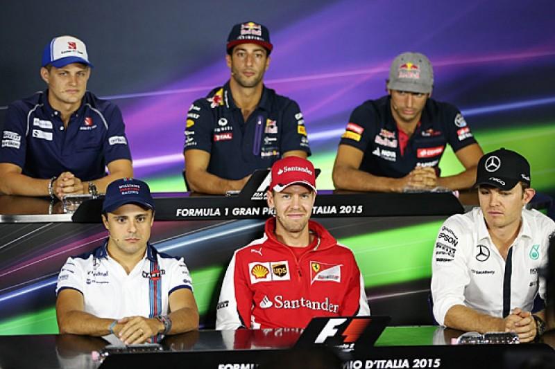 Italian GP Thursday FIA press conference transcript