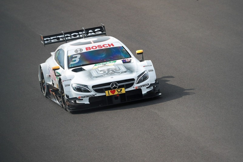 DTM Hungaroring: Mercedes' Paul di Resta charges to opening win