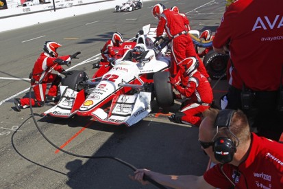 Penske and CHF Racing fined for Sonoma IndyCar pitlane clash