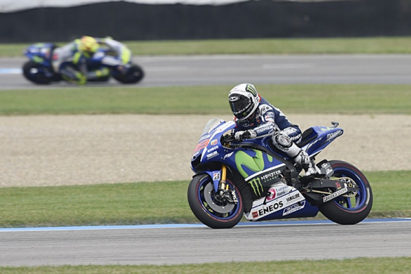 Jorge Lorenzo believes he's faster than MotoGP rival Valentino Rossi