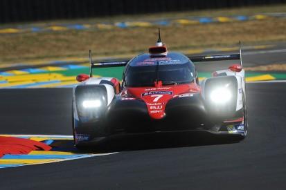 Toyota's Kobayashi sets lap record in Le Mans 24 Hours qualifying