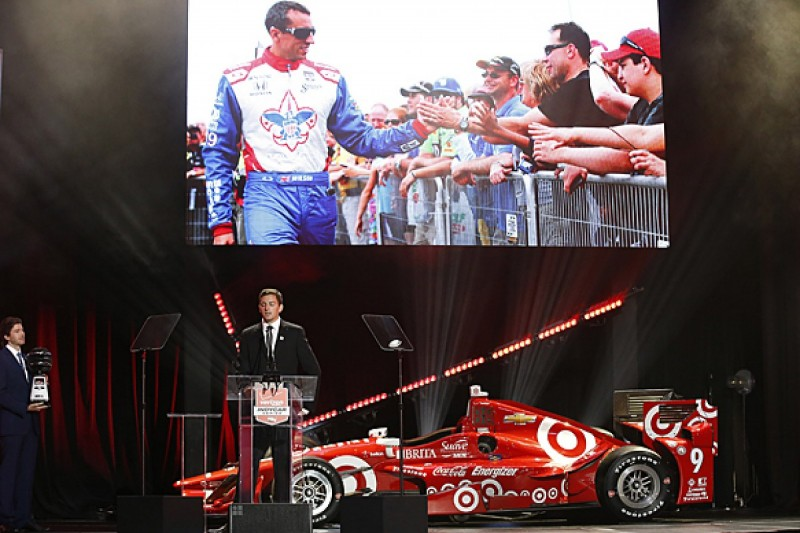 Justin Wilson wins IndyCar fan award for 2015