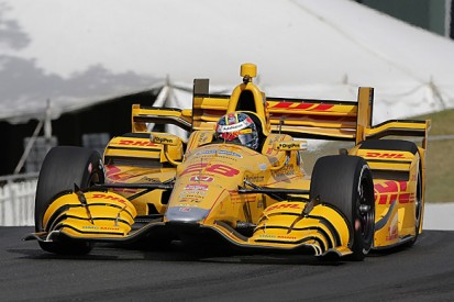 Sonoma IndyCar: Andretti's Ryan Hunter-Reay flies in practice two