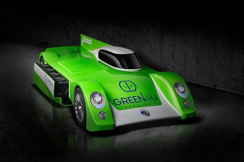Panoz unveils Green4U electric GT car with Le Mans 2018 in mind