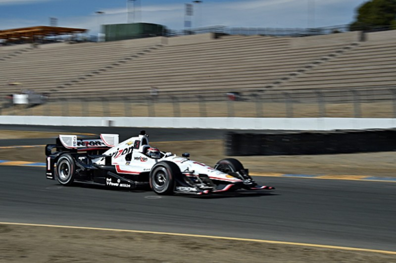 Sonoma IndyCar: Will Power fastest for Penske in Friday practice