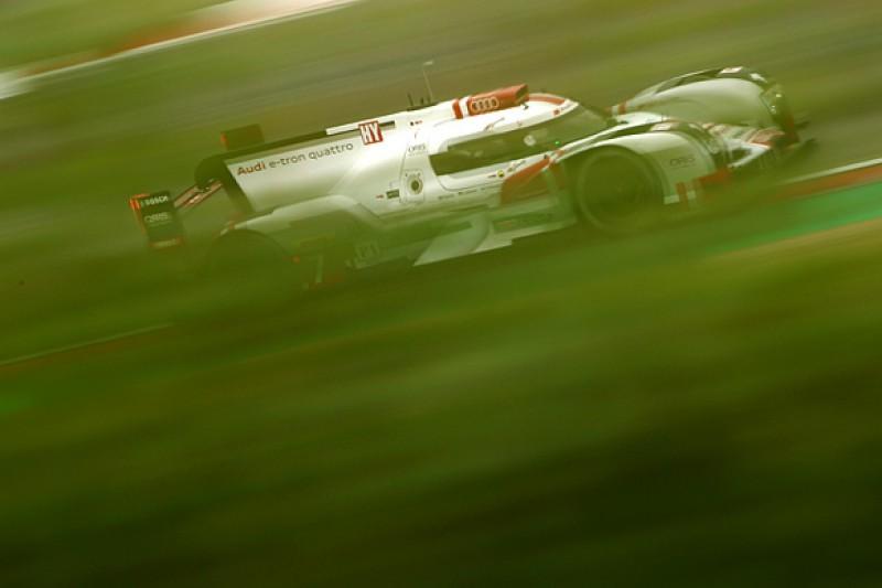 Nurburgring WEC: Audi leads Porsche in first practice
