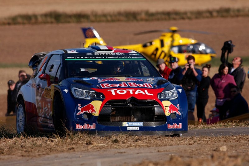 Citroen protege Stephane Lefebvre gets Tour of Corsica WRC run