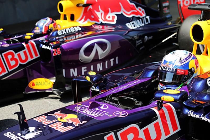 Red Bull set for same 2016 F1 line-up after Daniil Kvyat progress