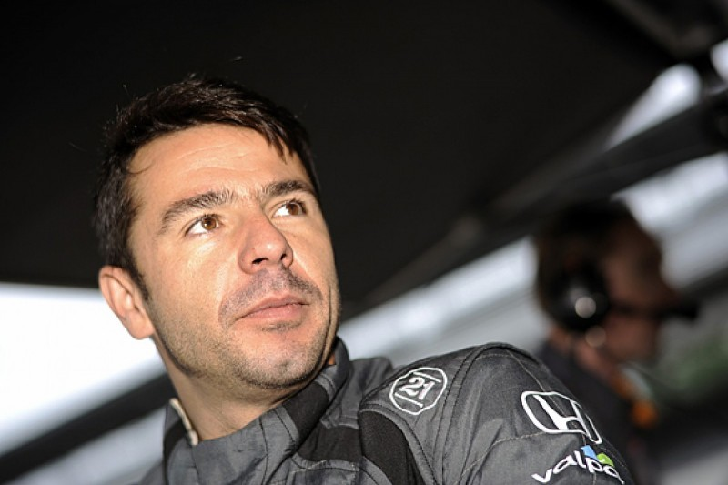 Oriol Servia to race Justin Wilson's Andretti IndyCar at Sonoma