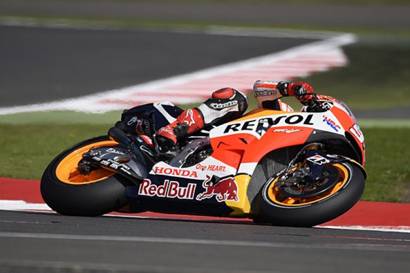 Silverstone MotoGP: Marc Marquez heads first practice session